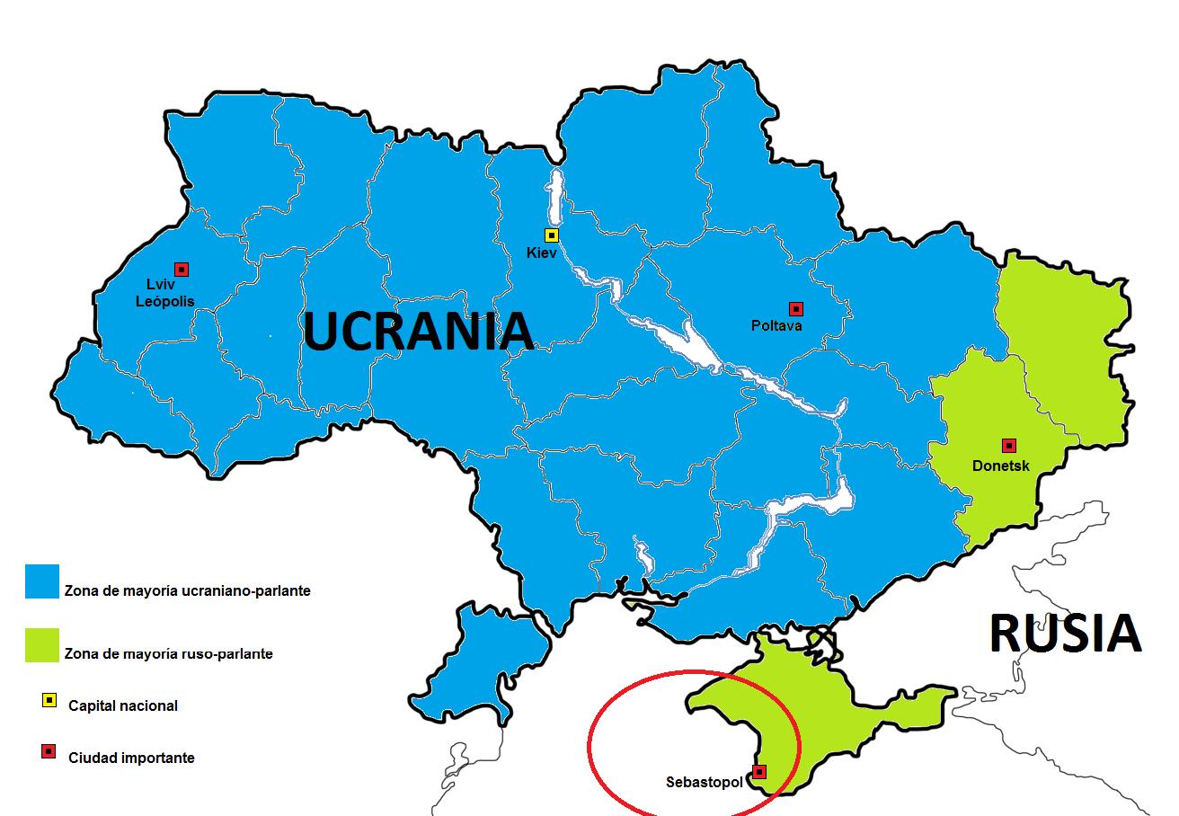 Rusia toma posici n activa en el conflicto de ucrania for Donde se encuentra el marmol