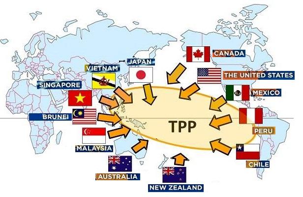 EL TPP YA ES EL NUEVO BLOQUE ECONÓMICO MUNDIAL